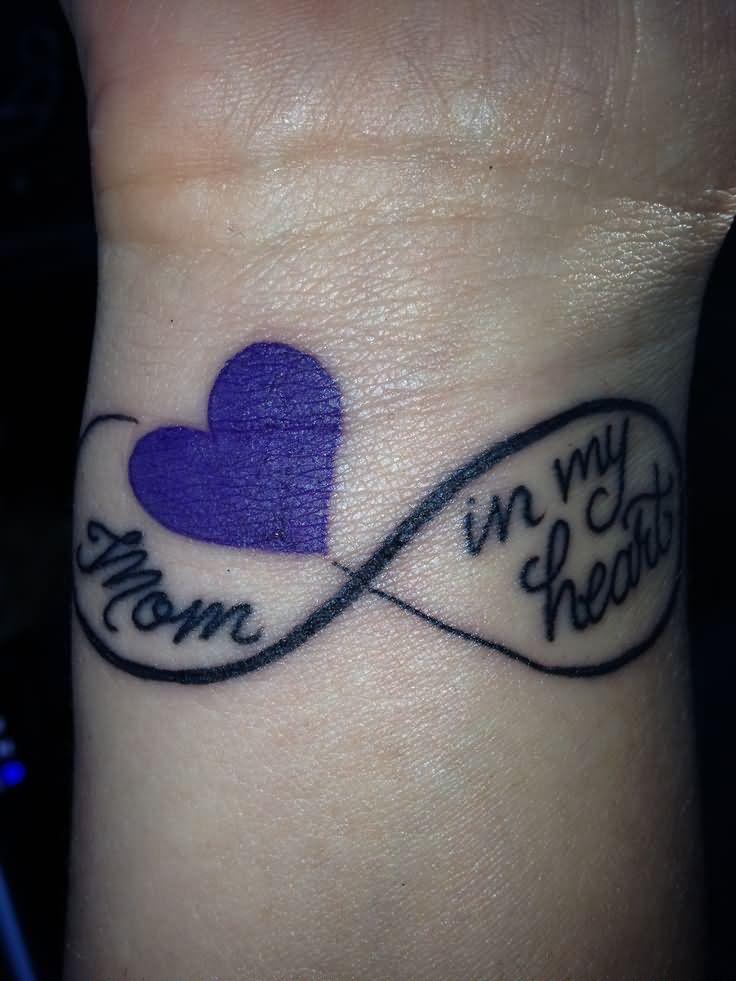 Small Memorial Tattoos For Dad: Right Wrist Memorial Dad Tattoo