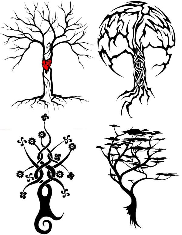 tree tattoos page 45. Black Bedroom Furniture Sets. Home Design Ideas