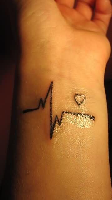 Cute Tiny Cross Tattoo On Wrist