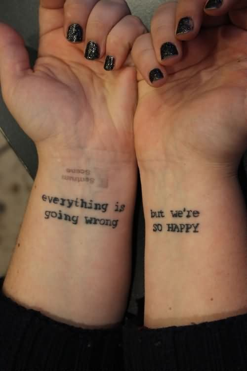 Wrist Tattoo Images &a...