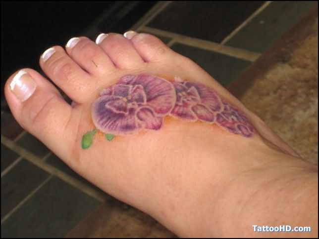 Orchid Tattoo Images & Designs