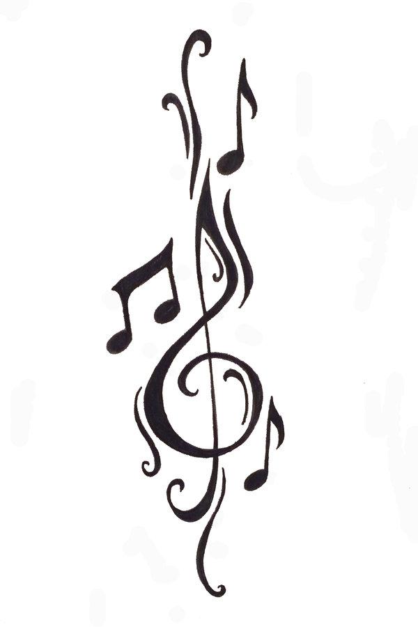 http://www.tattoostime.com/images/465/black-tribal-music-tattoo-design.jpeg Tribal Music Tattoo Designs