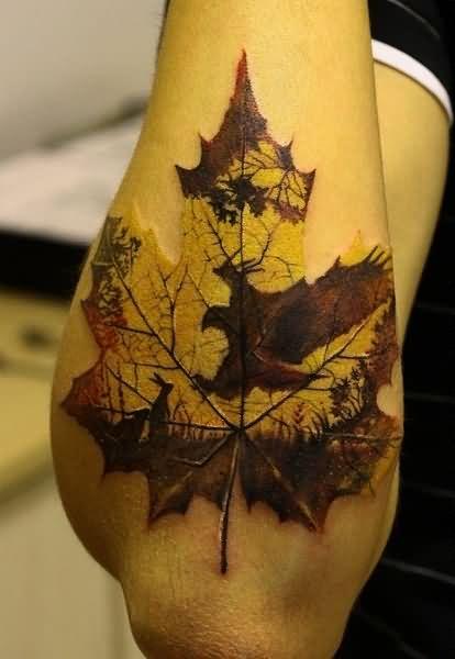 Maple Tree Tattoos: Tree Tattoo Images & Designs