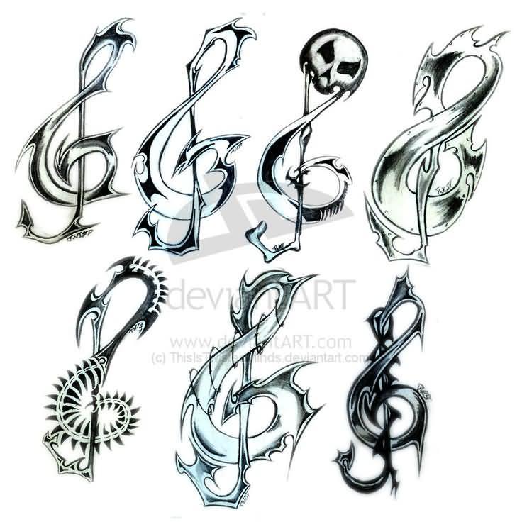 22 Music Tattoo Designs Ideas: Music Tattoo Images & Designs