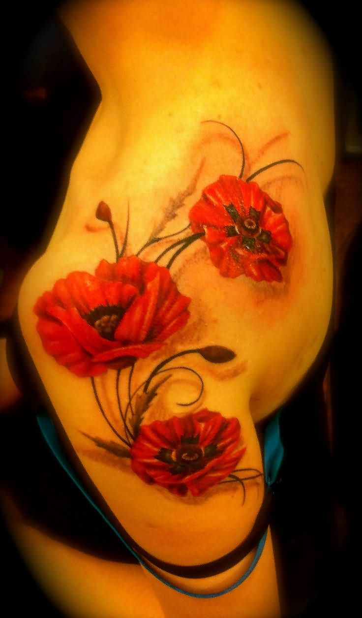Poppy Flower Tattoo: Poppy Tattoo Images & Designs