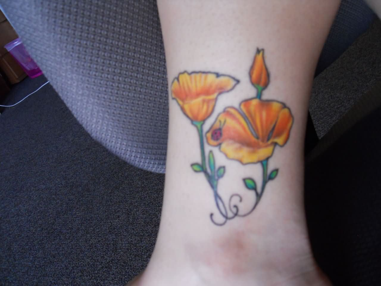 Poppy Tattoo Images &a...