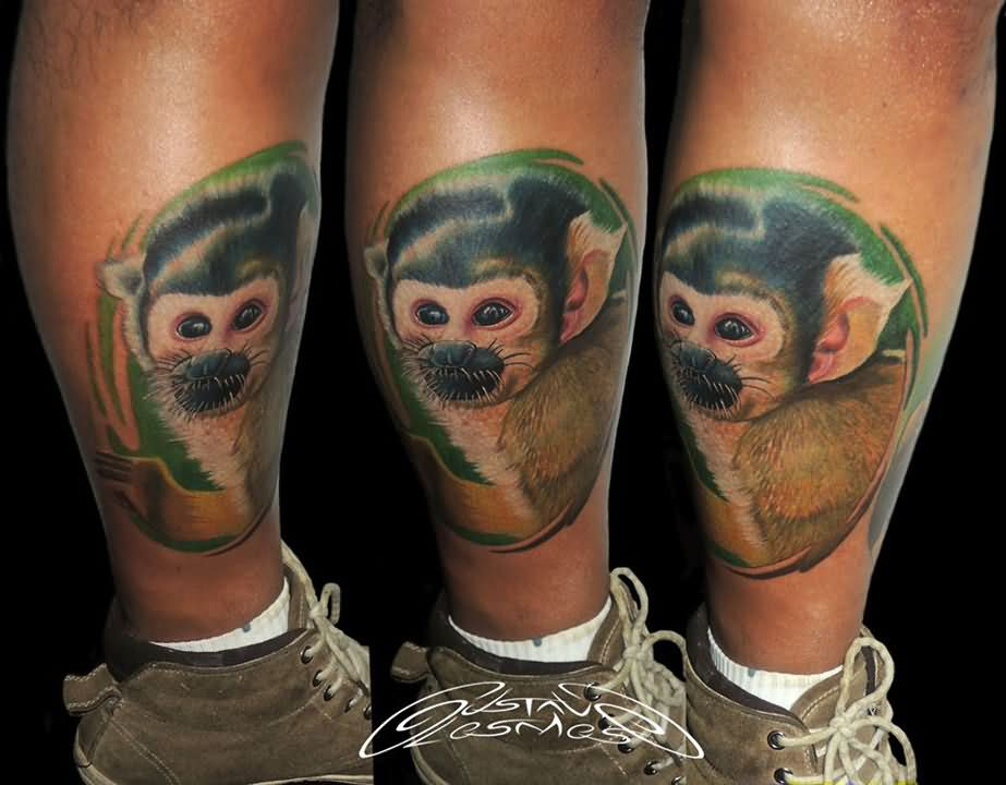 Squirrel tattoo images designs for Ink monkeys tattoo