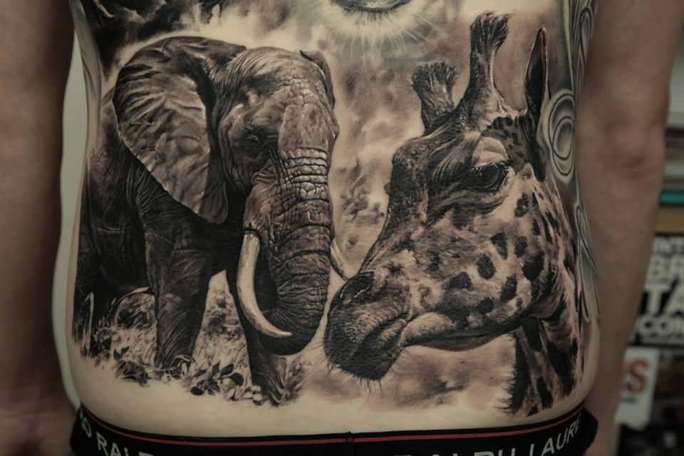 Giraffe Tattoo Images ...