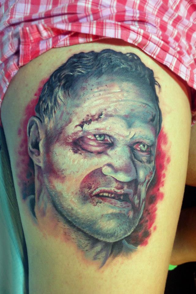 Zombie Shark Tattoo Zombie Shark Tattoo