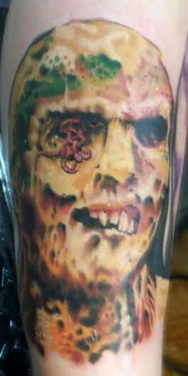 Rotten Tattoo: Zombie Head Tattoos
