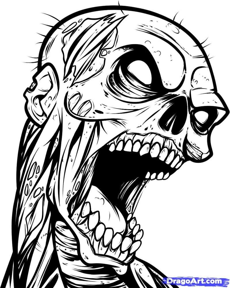 Zombie Tattoo Images amp Designs