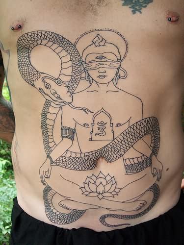 Gambling snake girl tattoo for Snake tattoo girl