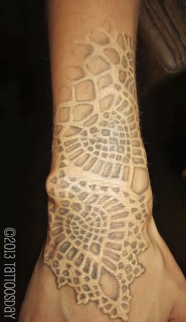 white ink tattoo images amp designs