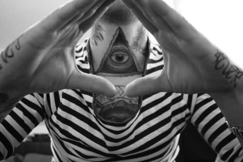 Eye With Triangle Tattoo: Triangle Eye Tattoo Images & Designs