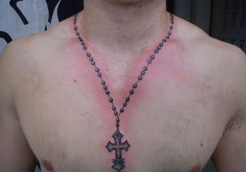 Necklace Tattoo Images & Designs