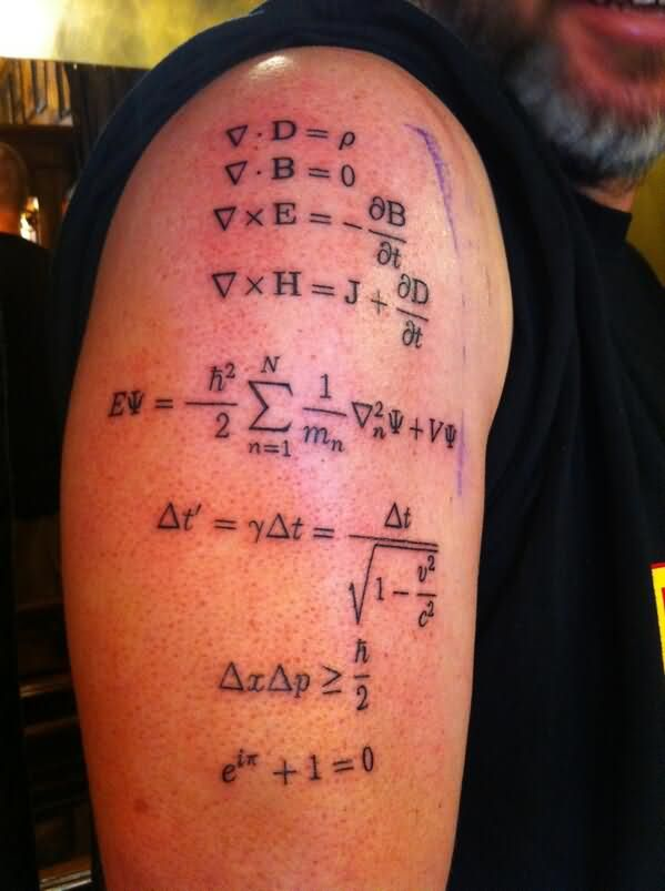 physics tattoo images  u0026 designs