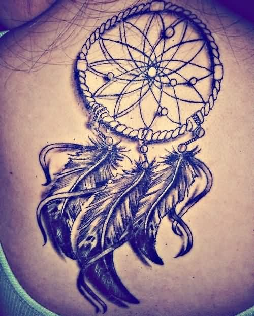 Dreamcatcher Native American Tattoo