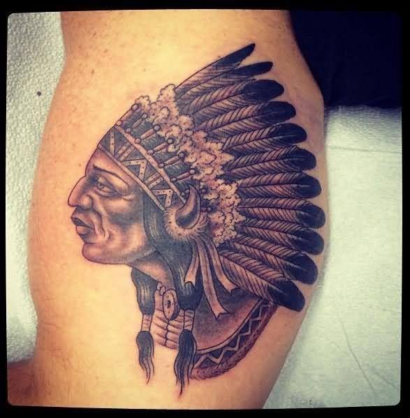 Native american owl tattoo - photo#13