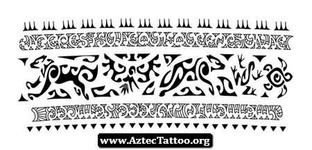 Band tattoo images designs for Aztec armband tattoos