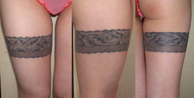 Left Forearm Band Tattoo