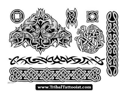 irish tribal band tattoo images galleries with a bite. Black Bedroom Furniture Sets. Home Design Ideas