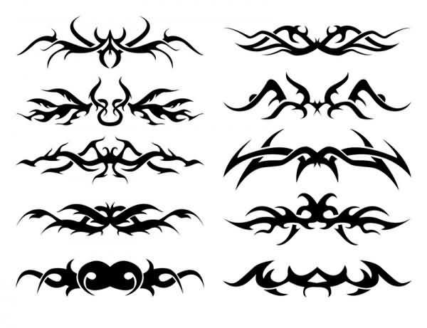 Tribal Band Tattoos Design For Men