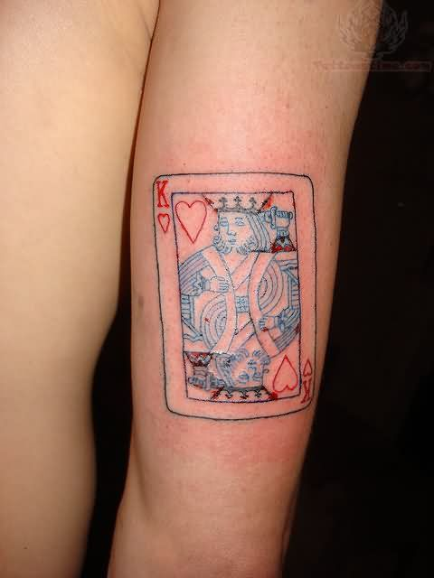 Queen Card Tattoo