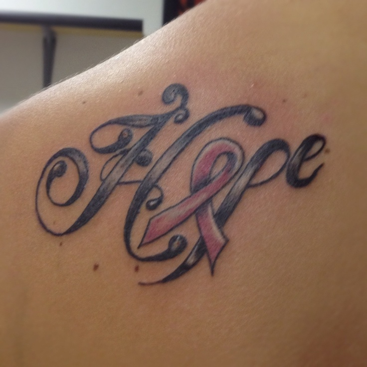 Cancer Tattoo Images & Designs Japanese Symbol For Faith Hope And Love