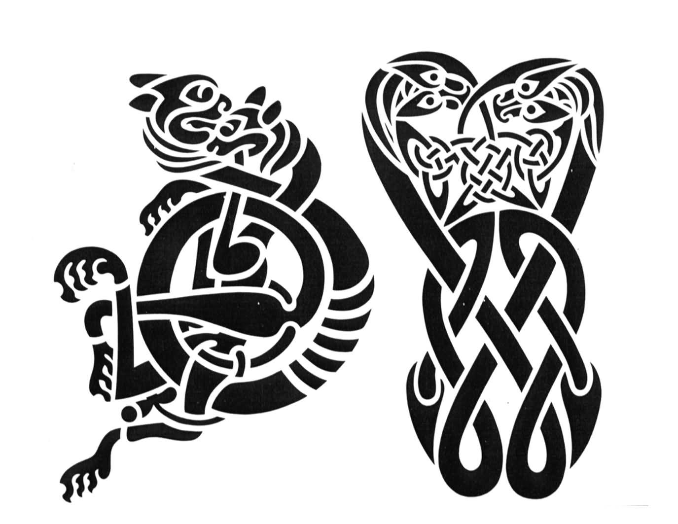 Celtic tattoo images designs amazing black celtic tattoos design biocorpaavc