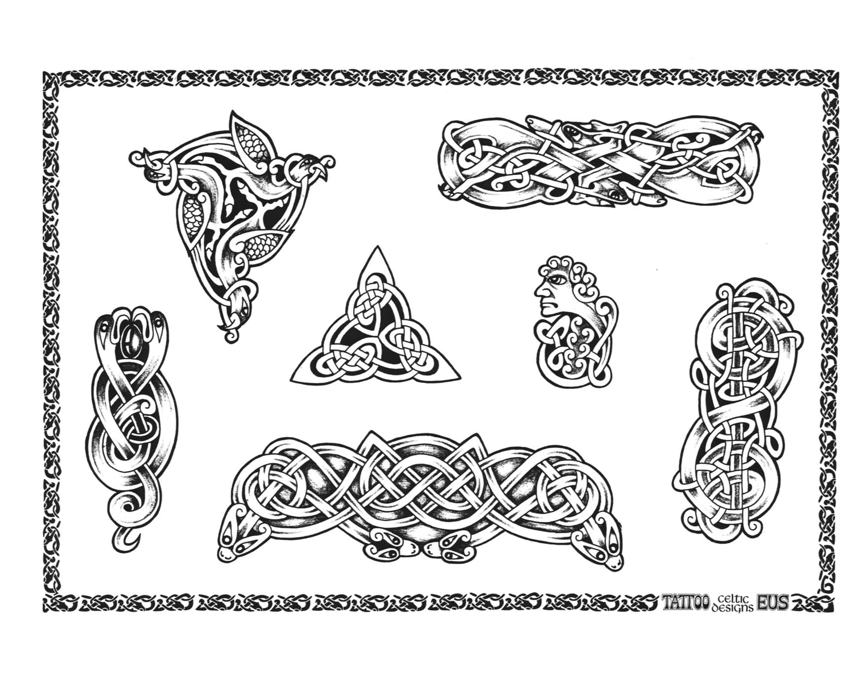 Scottish Celtic Knots And Their Meanings Irish Celtic Symbols And