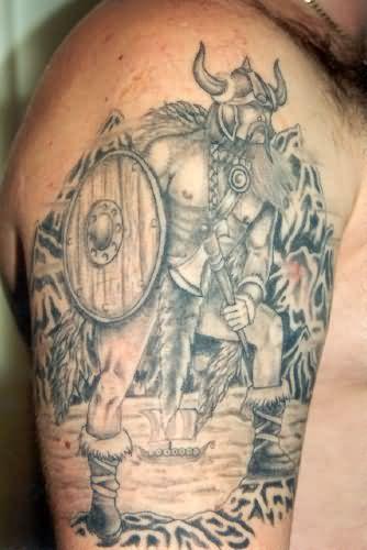 5ecc3809fbf02 Beautiful Celtic Tattoo On Man Right Half Sleeve