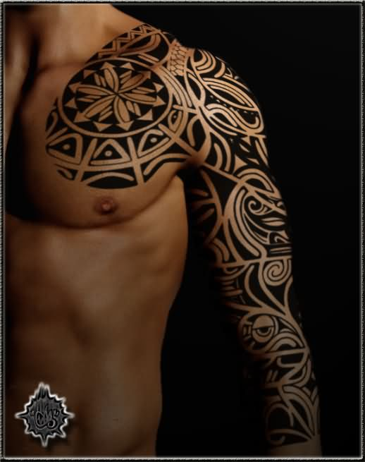 Celtic tattoo images designs for Chest and sleeve tattoo
