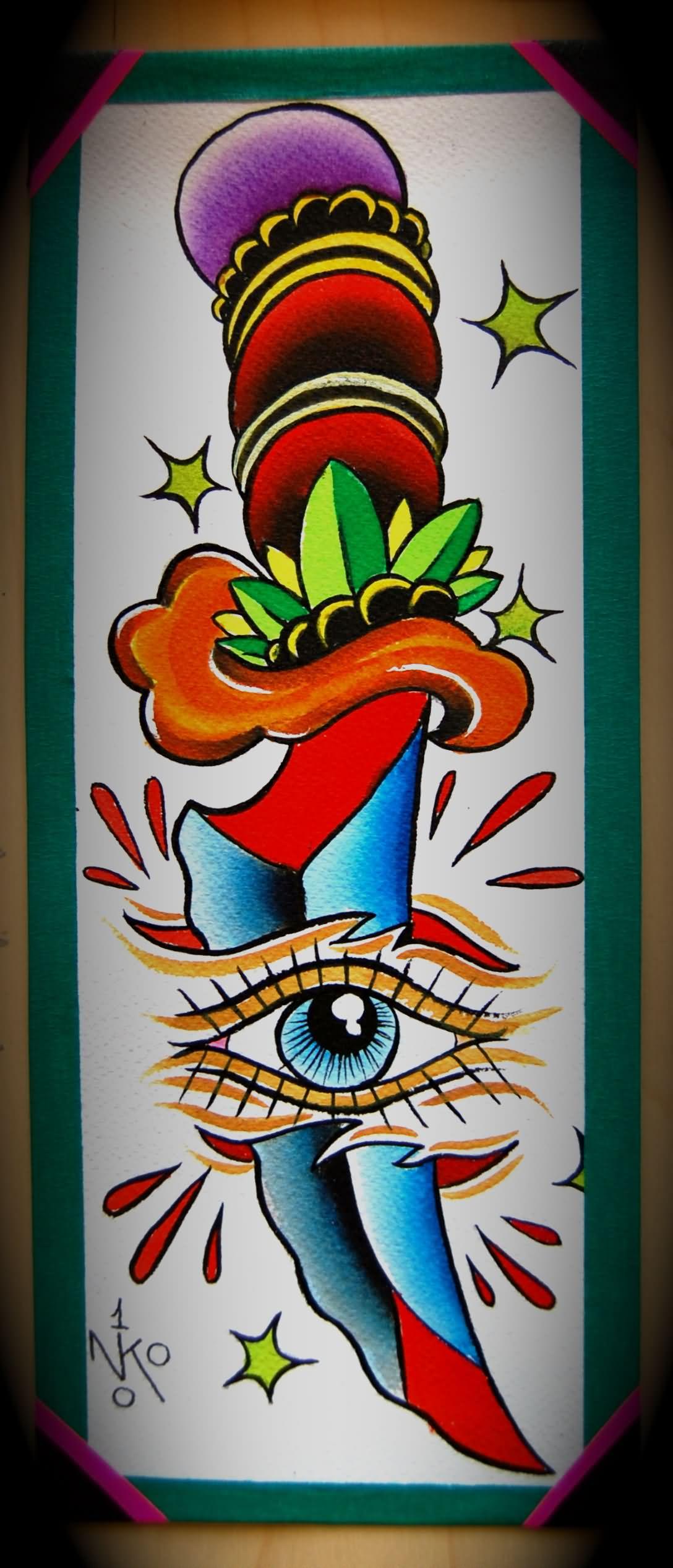 Dagger Tattoo Images Amp Designs