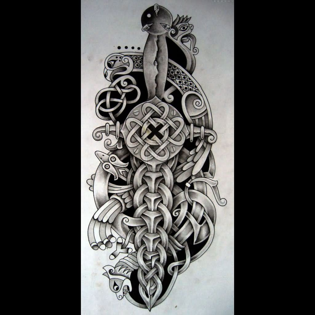 Scottish Warrior Tattoos: Dagger Tattoo Images & Designs