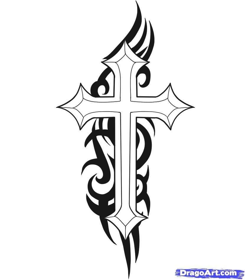 cross tattoo images designs. Black Bedroom Furniture Sets. Home Design Ideas