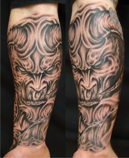 3790764c3 Forearm Demon Tattoos