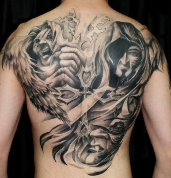 Terrifying Demon Tattoo Designs