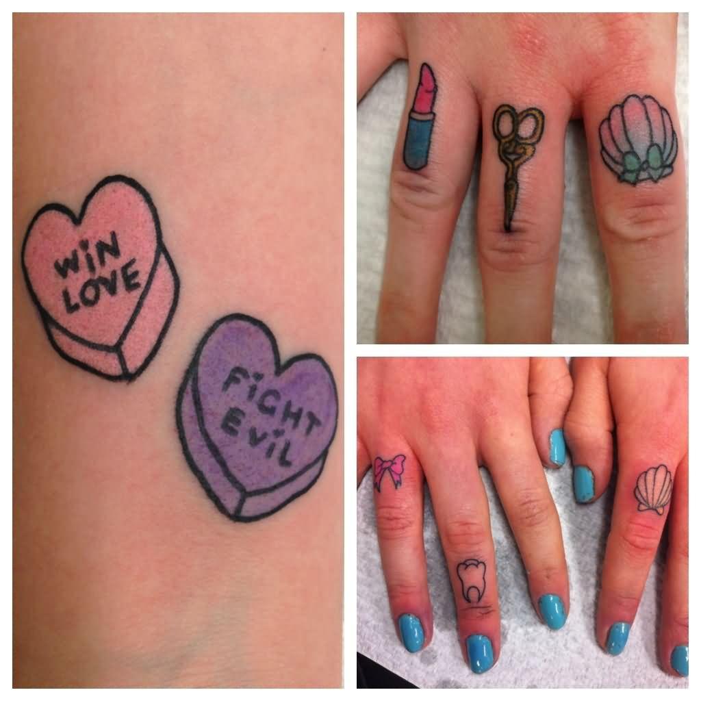 Lipstick tattoo images designs for Love lipstick tattoo