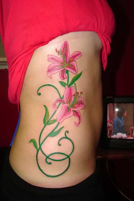 Lily Tattoo Images & Designs