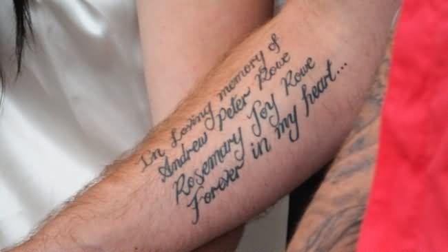 Beautiful Mother Tattoo On Leg