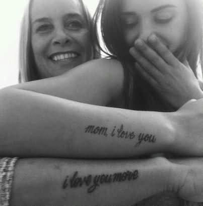 Wrists Mother Tattoo