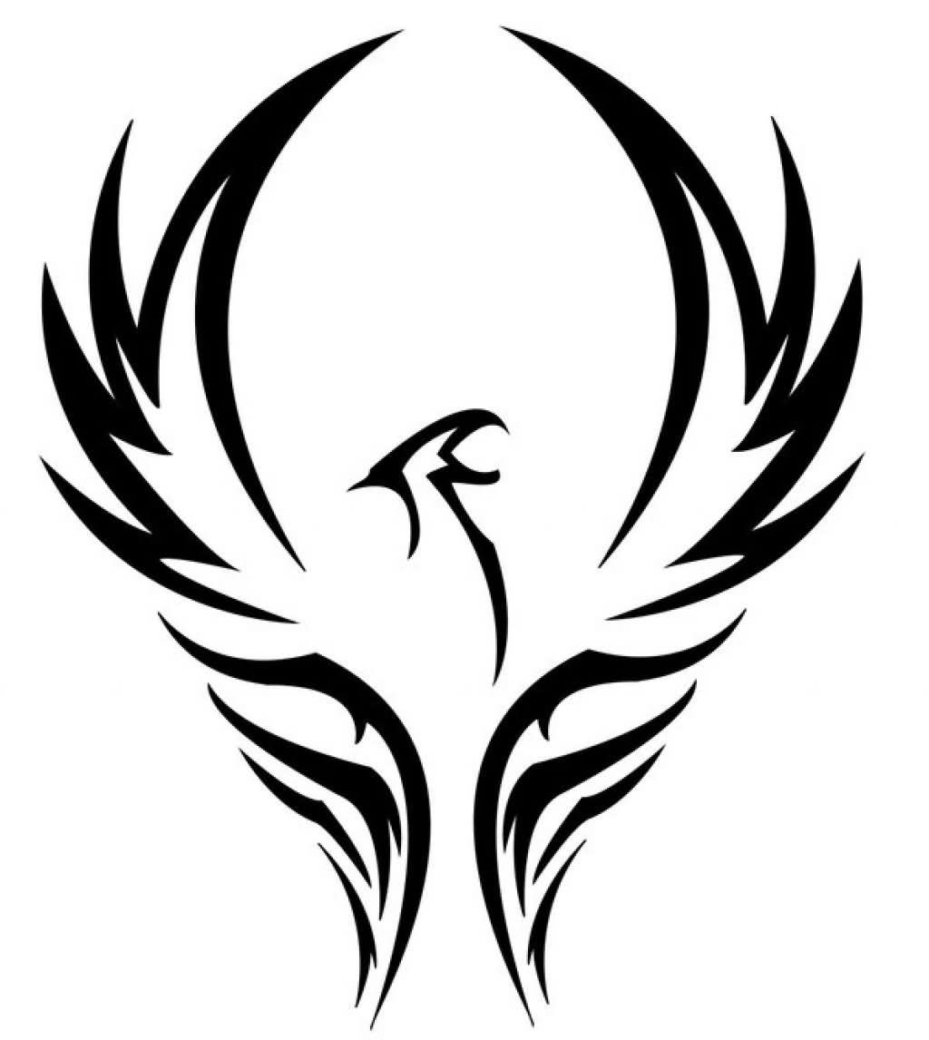amazing tribal phoenix tattoo design rh tattoostime com tribal phoenix tattoo designs color tribal phoenix tattoo designs