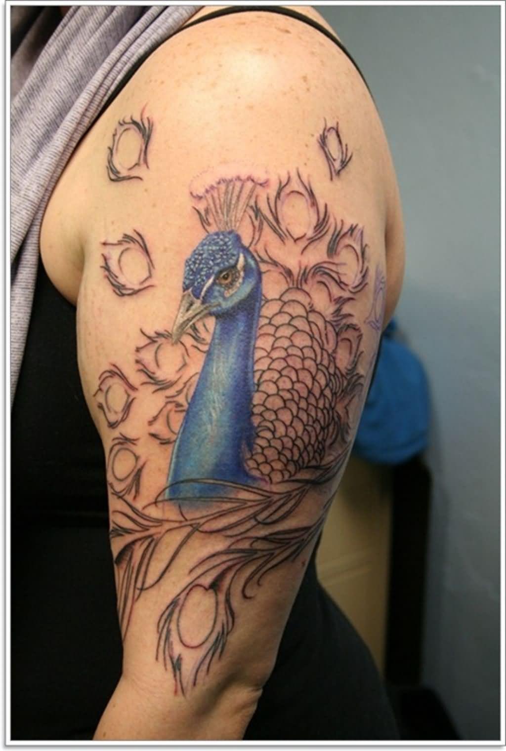 Phoenix tattoo images designs for Beautiful half sleeve tattoos
