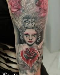 Queen tattoo images designs for Tattoo removal in queens