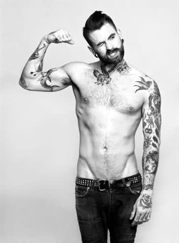 tattoo design man