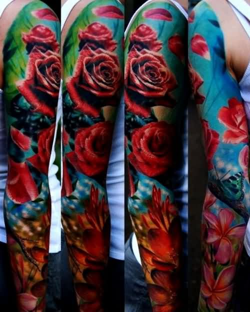 Sleeve Tattoo Images & Designs