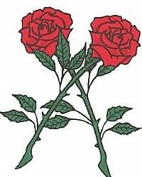 Rose Tattoo Samples
