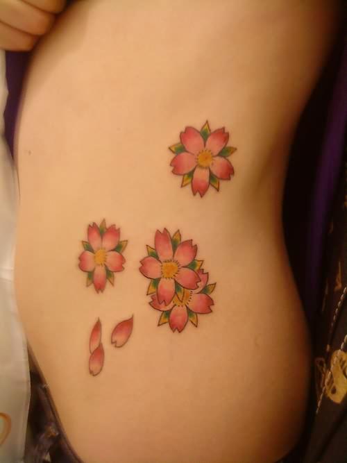 Pink Flower Tattoo: Tumblr Pink Flower Tattoo