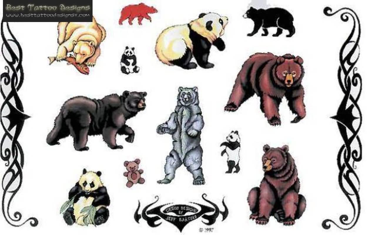 Latest Celtic Bear Paw Tattoo