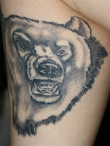 Wild Bear Tattoo Design